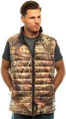 Men's Mossy Oak Lightweight Down Puffer Vest