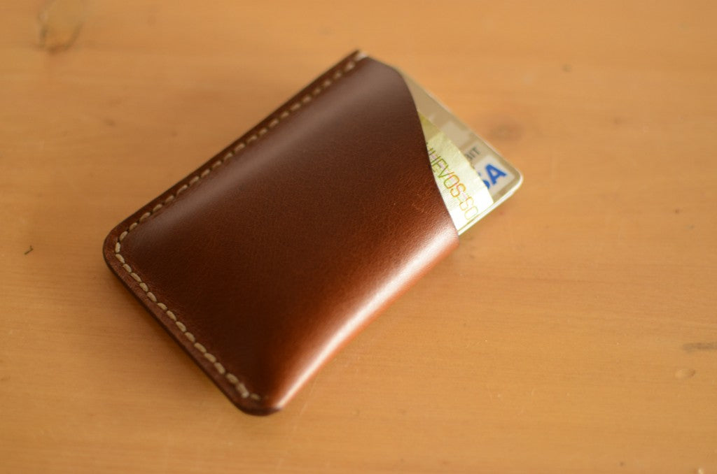 small men's leather wallet