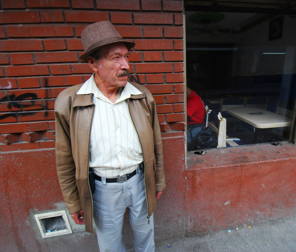 Colombian Leather worker
