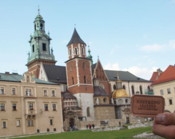 Restrepo Leather at the Wawel Castle