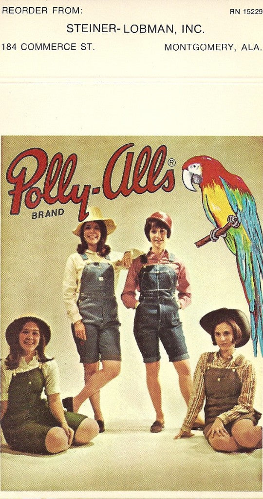 Polly-Alls advertisement