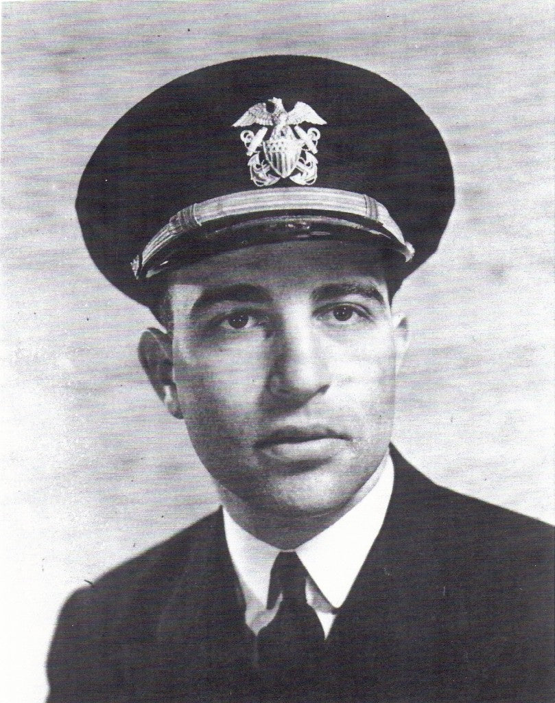 Van Eaton Hart in Navy uniform