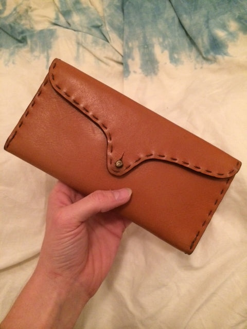 Whiskey Candelaria Wallet strictly handmade