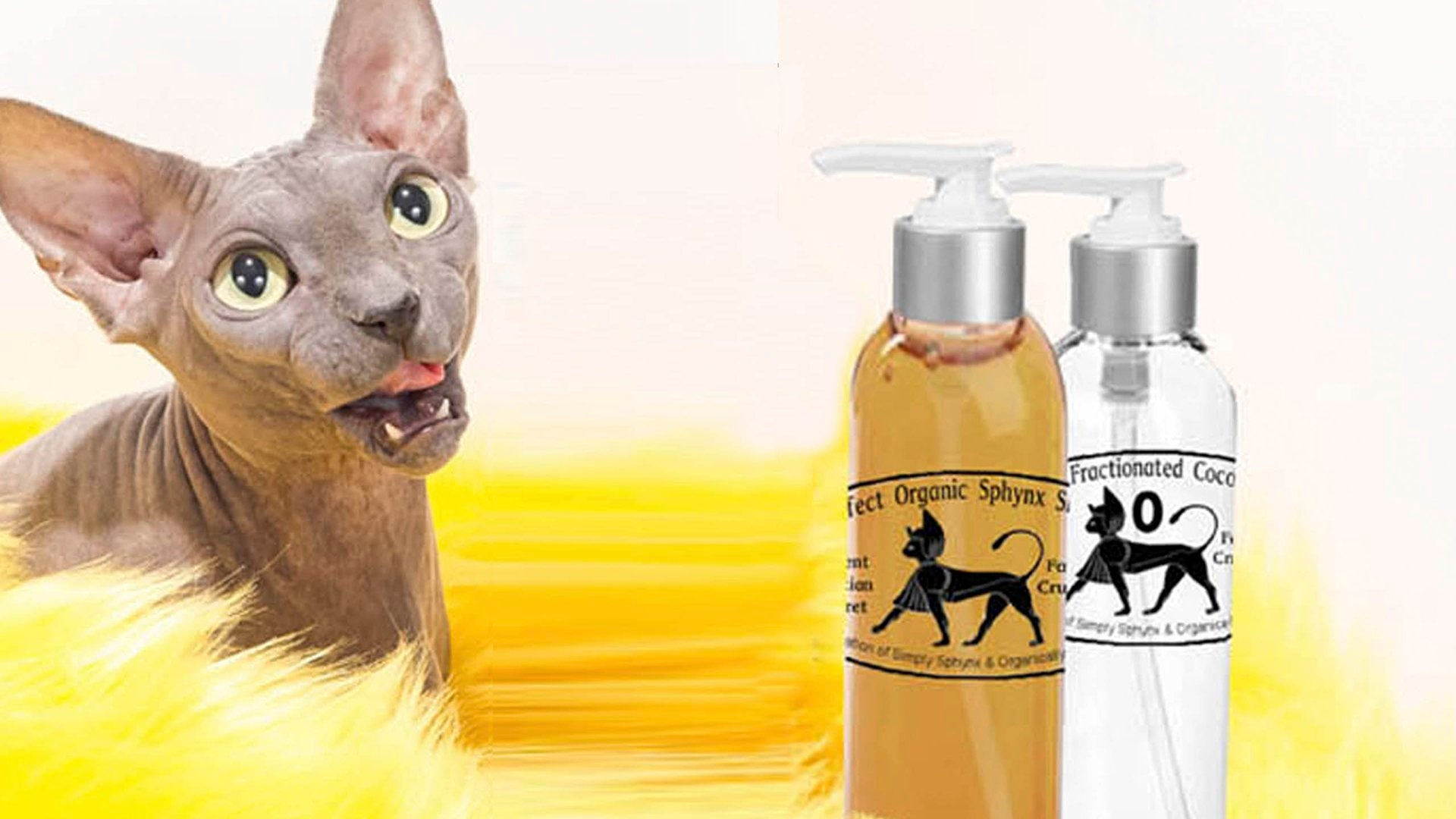 Organic Cat Shampoo Spa System
