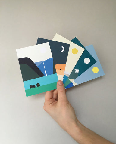 LANDSCAPE cards, set of 10