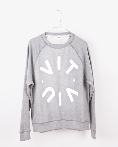 TESSA logo sweat - Grey