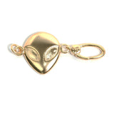 La Vita Linx Alien Linkable Charm in Gold
