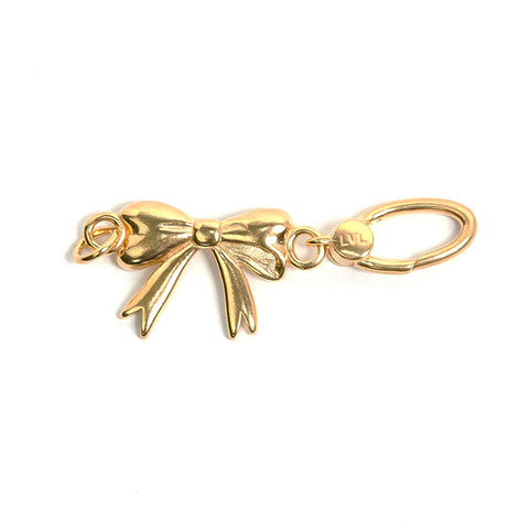 La Vita Linx Bow Linkable Charm in Gold
