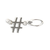 La Vita Linx Hashtag Linkable Charm in Silver