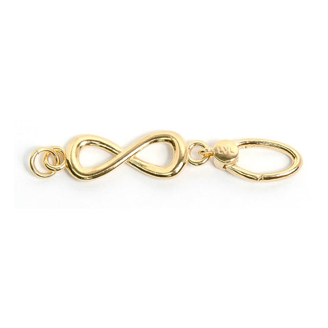 La Vita Linx Infinity Linkable Charm in Gold