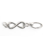 La Vita Linx Infinity Linkable Charm in Silver