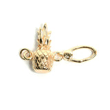 La Vita Linx Pineapple Linkable Charm in Gold