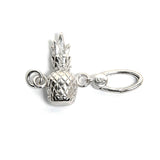 La Vita Linx Pineapple Linkable Charm in Silver