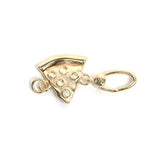 La Vita Linx Pizza Linkable Charm in Gold