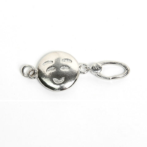 La Vita Linx Smile Emoji Linkable Charm in Silver