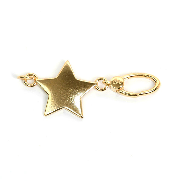 La Vita Linx Star Linkable Charm in Gold