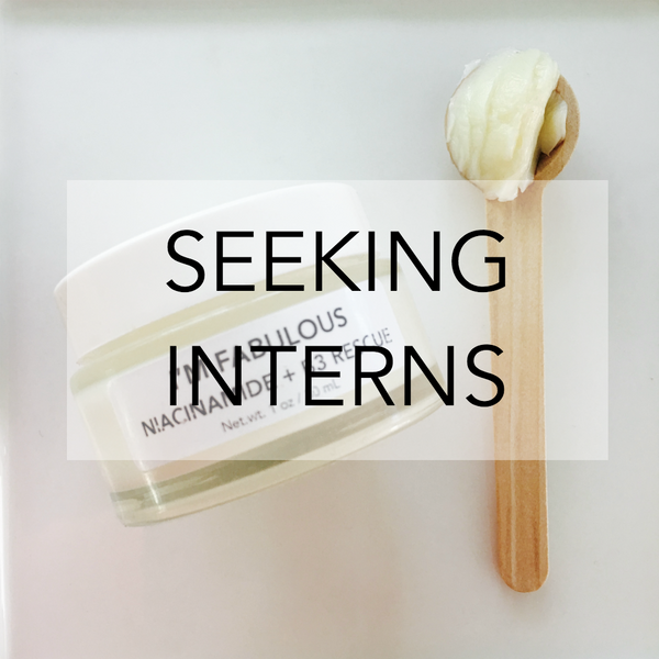 I'M FABULOUS COSMETICS SEEKING INTERNS