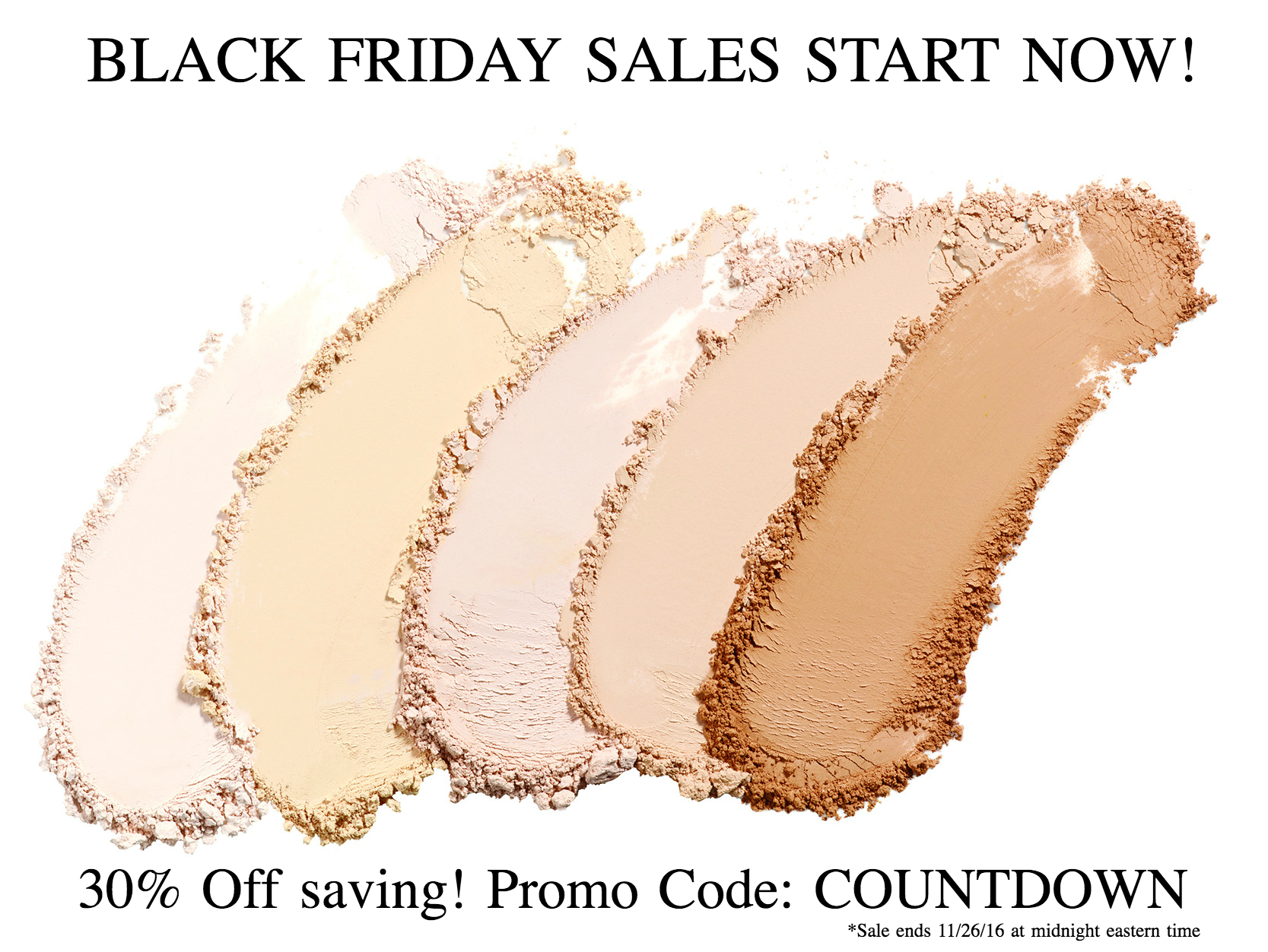 I'M FABULOUS COSMETICS BLACK FRIDAY SALES START NOW!
