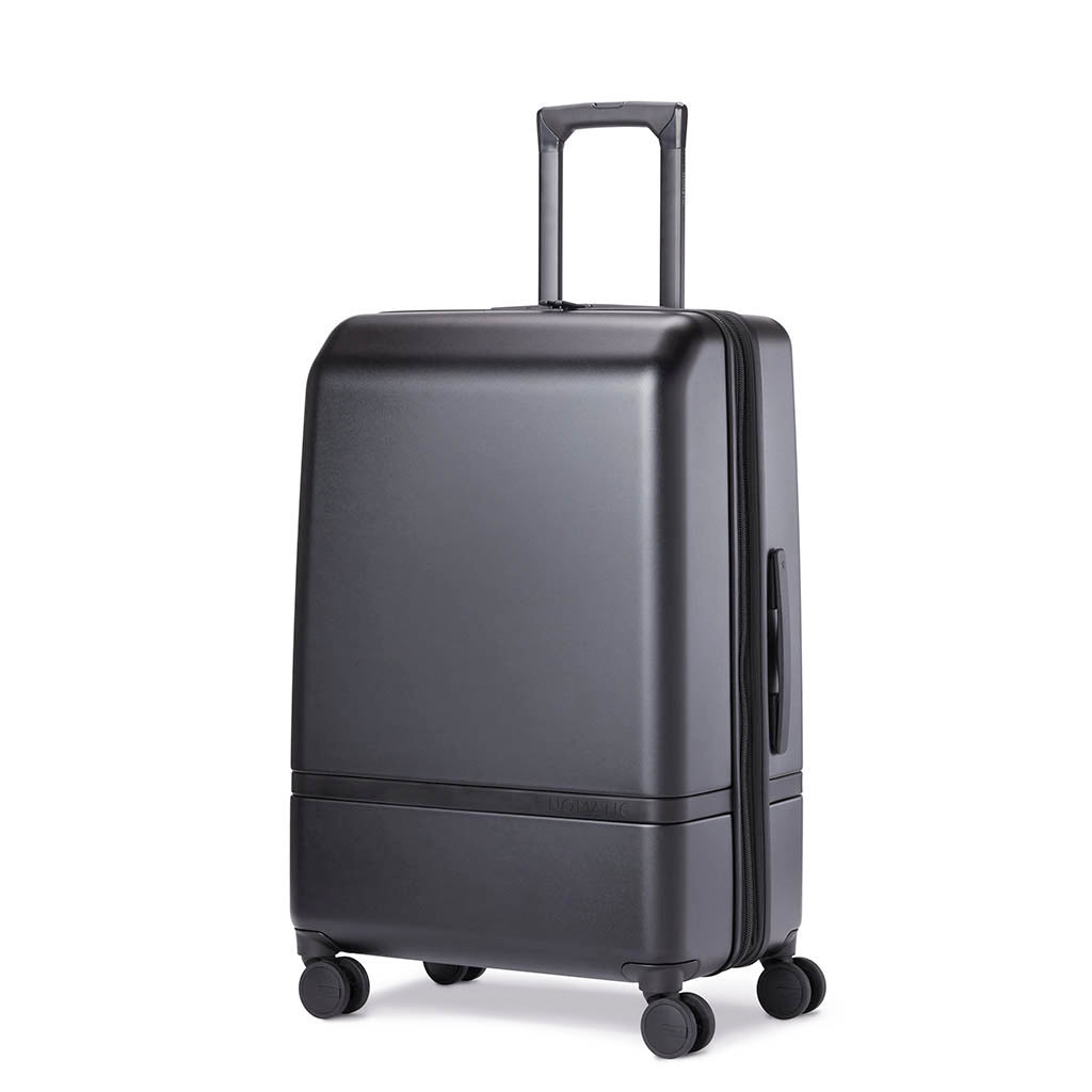 4. Nomatic Checked rolling luggage with 4 wheels