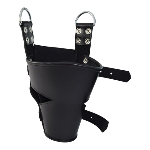 Heavy Duty Two Buckle Leather Ankle Suspension Straps