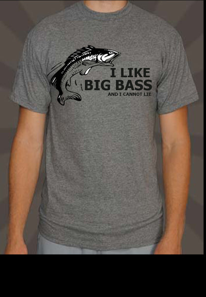 I LiKe Big Bass Fishing Shirt - 210 Kreations  - 1