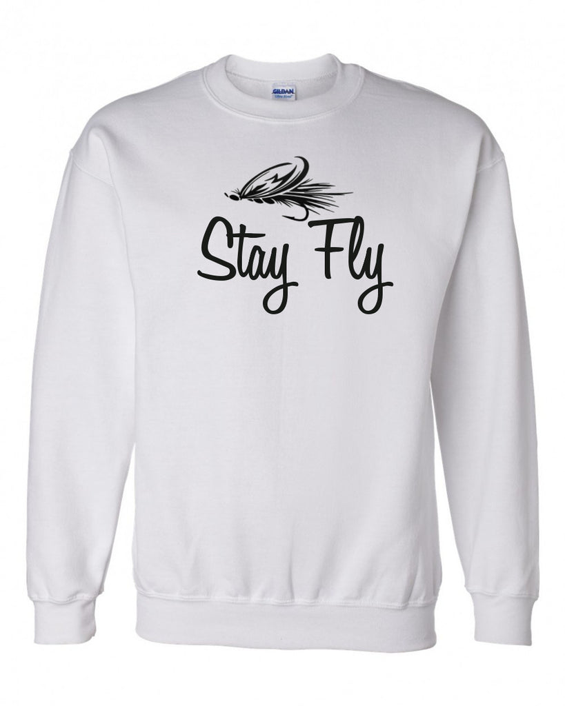 Stay Fly Fishing Hooded Sweatshirt - 210 Kreations  - 1