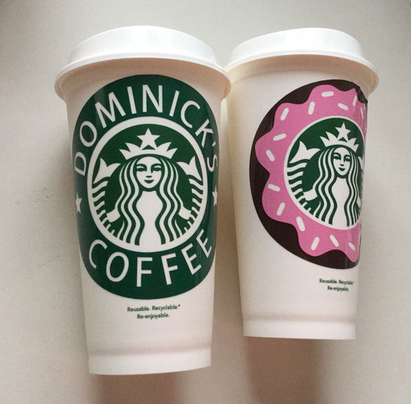 Starbucks Personalized, Reusable Plastic Cup - 210 Kreations  - 3