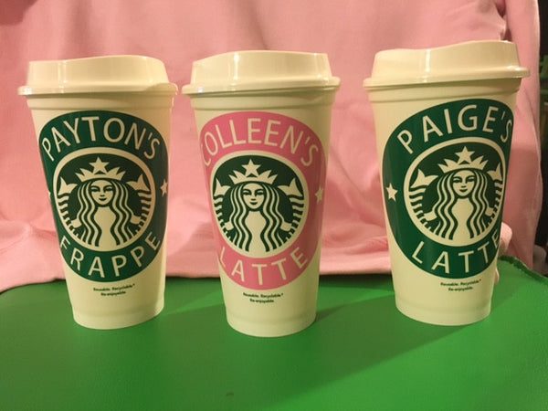 Starbucks Personalized, Reusable Plastic Cup - 210 Kreations  - 2