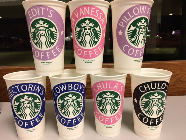 Starbucks Personalized, Reusable Plastic Cup - 210 Kreations  - 1