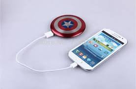 Avengers Captain America Charger Power Bank - 210 Kreations  - 2