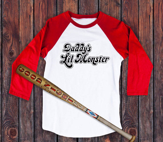 Daddy's Lil Monster - Harley Quinn Shirt - 210 Kreations