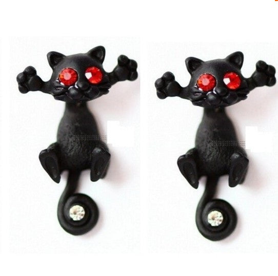 Cute Cat Stud Earrings 50% off!! - 210 Kreations  - 4