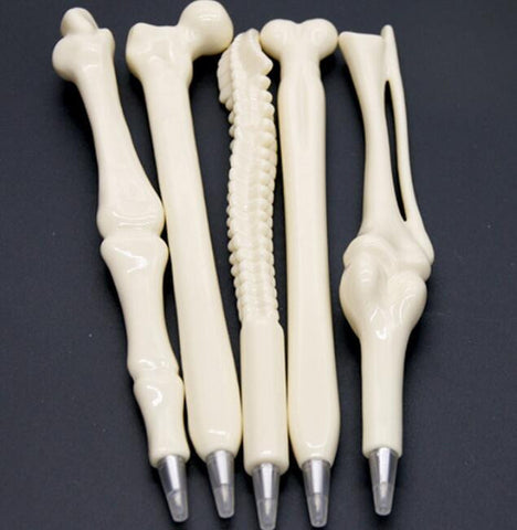 5Pcs Creative Ballpoint Human Bones Pen - Nurse Teacher Doctors - 210 Kreations