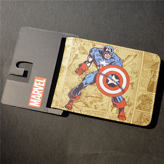 Marvel The Avengers Hulk/Iron Man Thor/Captain/America/Superman Wallet - 210 Kreations  - 25