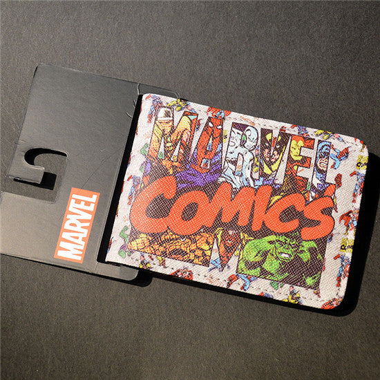 Marvel The Avengers Hulk/Iron Man Thor/Captain/America/Superman Wallet - 210 Kreations  - 20