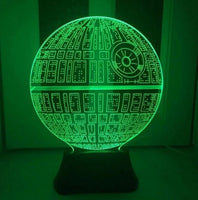 Star Wars BB8 droid 3D Bulbing Light Toys 2016 New  7 Different Colors LED Lamp - 210 Kreations  - 5
