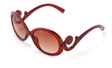 Retro inspired Women's Round Sunglasses - 210 Kreations  - 4