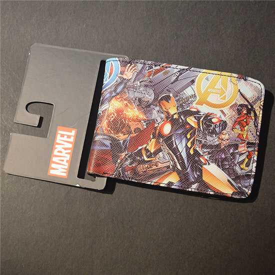 Marvel The Avengers Hulk/Iron Man Thor/Captain/America/Superman Wallet - 210 Kreations  - 27