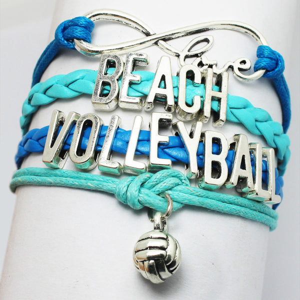Volleyball Infinity Bracelet - 210 Kreations  - 5