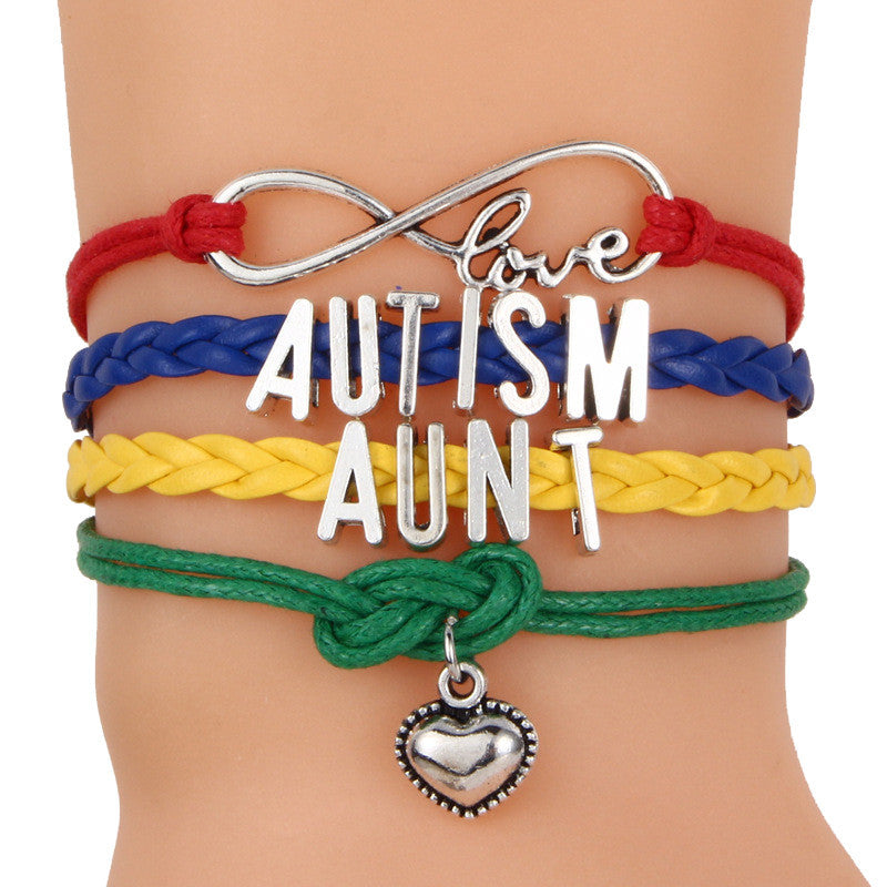 Autism Colorful Braided Bracelet - 210 Kreations  - 4