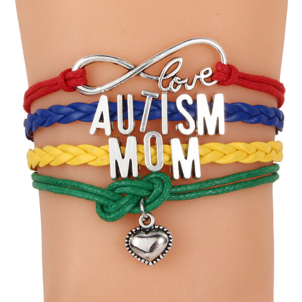 Autism Colorful Braided Bracelet - 210 Kreations  - 5