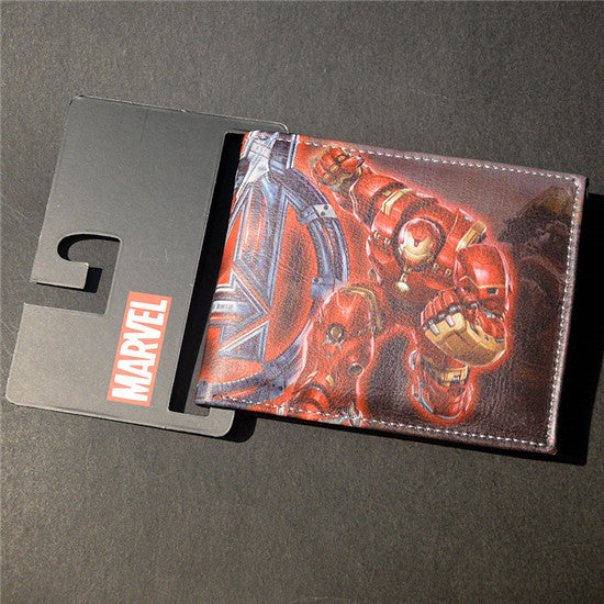 Marvel The Avengers Hulk/Iron Man Thor/Captain/America/Superman Wallet - 210 Kreations  - 7
