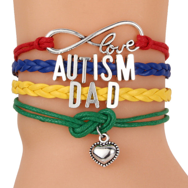 Autism Colorful Braided Bracelet - 210 Kreations  - 7