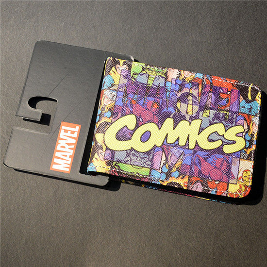 Marvel The Avengers Hulk/Iron Man Thor/Captain/America/Superman Wallet - 210 Kreations  - 18