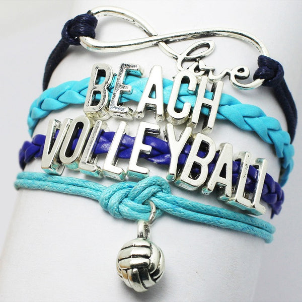 Volleyball Infinity Bracelet - 210 Kreations  - 3