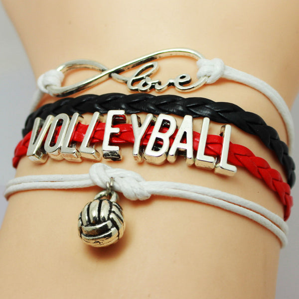 Volleyball Infinity Bracelet - 210 Kreations  - 2