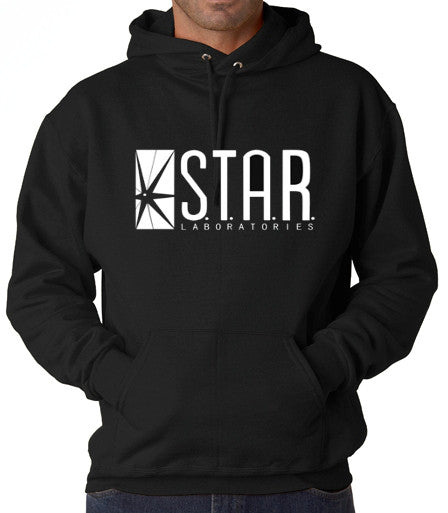 The Flash DC Barry Allen Laboratories Star Labs Hooded Sweatshirt - 210 Kreations  - 1