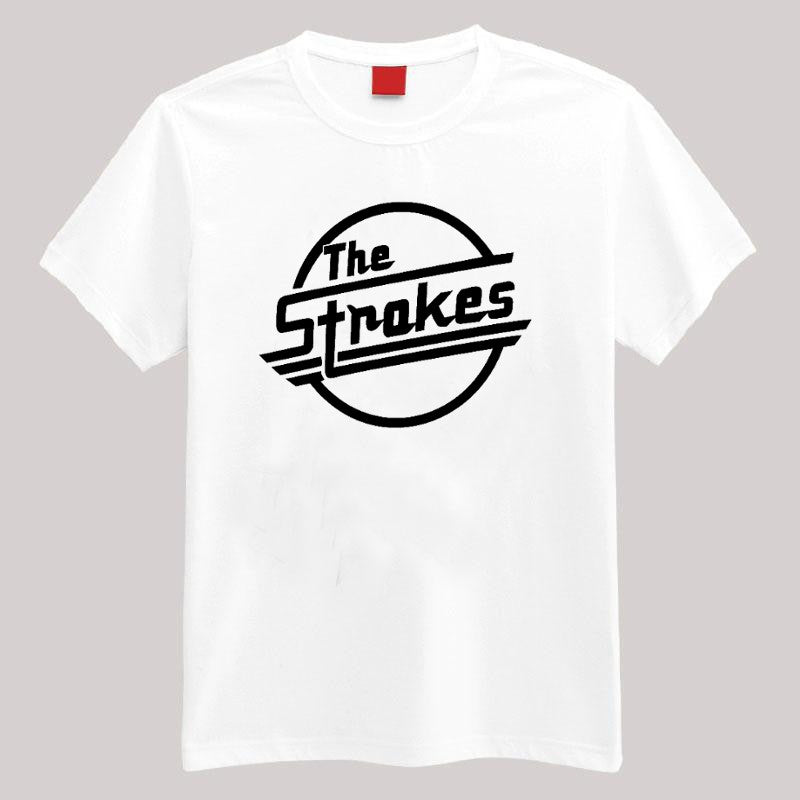 The Strokes T Shirt - 210 Kreations  - 1