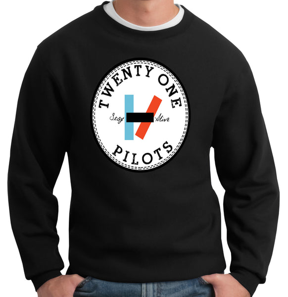 Twenty One Pilots Crewneck Sweatshirt - 210 Kreations  - 1