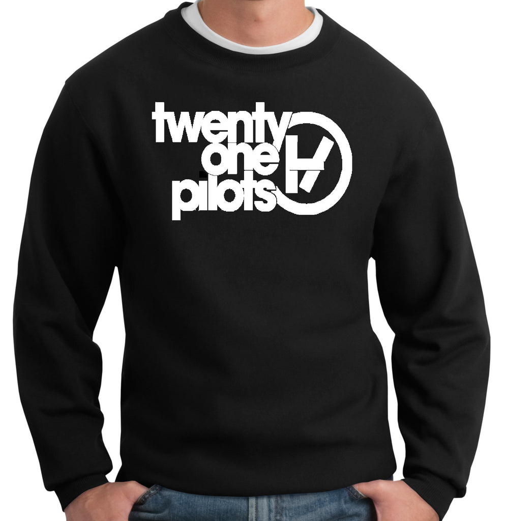 Twenty One Pilots Logo Crewneck Sweatshirt - 210 Kreations  - 1